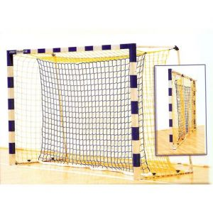 Lovilna mreža za rokometni gol 3x2m polipropilen 4mm par