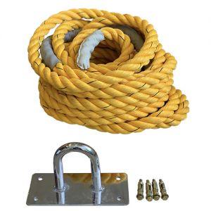 Vrv za vlečenje in funkcionalno vadbo ESSE, nylon dolžine 15 m